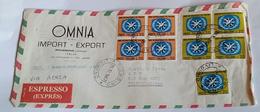 ITALIA 1967 - (284) LETTERA ESPRESSA PER LA LIBIA POSTA AEREA