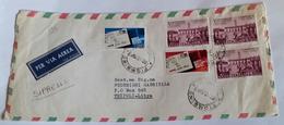 ITALIA 1967 - (285) LETTERA ESPRESSA PER LA LIBIA POSTA AEREA