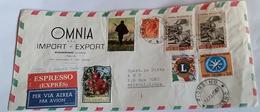 ITALIA 1967 - (286) LETTERA ESPRESSA PER LA LIBIA POSTA AEREA