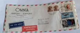 ITALIA 1967 - (287) LETTERA ESPRESSA PER LA LIBIA POSTA AEREA