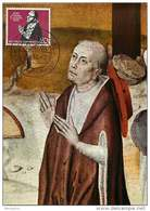 1958  500 Jahre Cusanusstift  MiNr 301 Ersttagstempel   Cardinal Cusanus - [7] Federal Republic