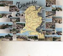 3 C Tunisie Carte Cpsm