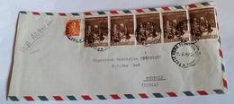ITALIA 1967 - (288) LETTERA PER LA LIBIA POSTA AEREA