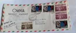 ITALIA 1967 - (289) LETTERA PER LA LIBIA POSTA AEREA