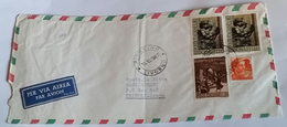 ITALIA 1967 - (291) LETTERA PER LA LIBIA POSTA AEREA