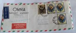 ITALIA 1967 - (292) LETTERA ESPRESSA PER LA LIBIA POSTA AEREA