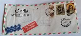 ITALIA 1967 - (294) LETTERA ESPRESSA PER LA LIBIA POSTA AEREA