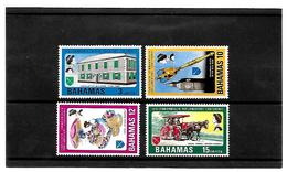 EDY 61 - BAHAMAS , Quattro Valori *** Conference Commonwealth - Bahamas (1973-...)