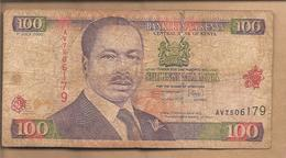 Kenya - Banconota Circolata Da 100 Scellini - 2000 - Kenia