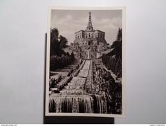 KASSEL 1950 YEARS GERMANY ALLEMAGNE DIE KASKADEN MIT DEM HERKULES POSTCARD - Kassel