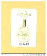 LISE WATIER - FOLIES (LIQUATOUCH) - Cartes Parfumées