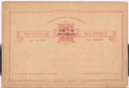 Companhia De Moçambique, Bilhete Postal - Mosambik