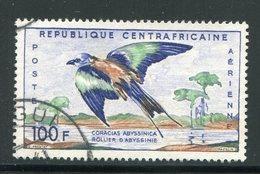 CENTRAFRICAINE- P.A Y&T N°1- Oblitéré (oiseau)
