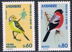 Andorre Français - Protection De La Nature : Oiseaux 240/241 ** - Passereaux