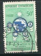 CENTRAFRICAINE- Y&T N°3- Oblitéré