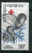 CENTRAFRICAINE- P.A Y&T N°36- Oblitéré (croix-rouge)