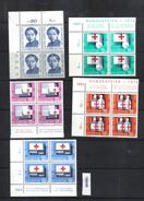 Schweiz PP 1963 Zst. 113 - 117 / Mi. 775 - 779 Viererblock **