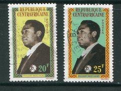 CENTRAFRICAINE- Y&T N°22 Et 23- Oblitérés