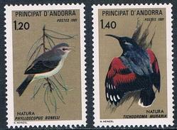 Andorre Français - Protection De La Nature : Oiseaux 294/295 ** - Passereaux