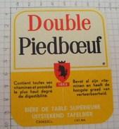 ETIQUETTE DOUBLE BRASSERIE PIEDBOEUF JUPILLE - 3 - Bière