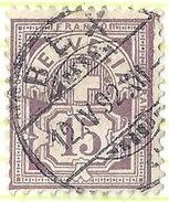 Ziffer 64A, 15 Rp.stumpfpurpur  BEX         1892