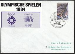 Belgium Wetteren 1984 / Archery / Themafila / Olympic Rings