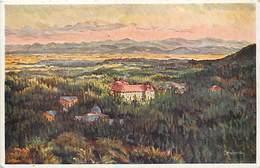 Pays Div-ref J34- Slovaquie - Illustrateurs - Dessin Illustrateur  -letniansky - Quartier De Visoketatry  - - Slovaquie