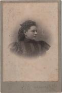 Photo Originale De Cabinet XIX ème Femme Par  Coyswell Halifax Canada - Anciennes (Av. 1900)