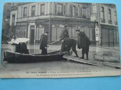 75 - Paris Inondé - Les Religieuses De Saint Vincent De Paul En Tournée De Charité - Paris Flood, 1910