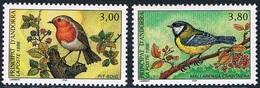 Andorre Français - Oiseaux 470/471 ** - Passereaux