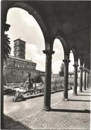 Y3404 Grottaferrata (Roma) - Badia Greca - Basilica E Portico Del Sangallo / Viaggiata 1965 - Altre Città