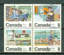 Canada 1974 -  675/80 - Yv. 534/39 - Cancelled Block Of 4 - 1952-.... Regno Di Elizabeth II