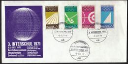 Germany Dortmund 1971 / INTERSCHUL / World Progress Through Education / Olympic Games Munich 1972