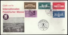 Germany Frankfurt 1970 / Internationalen Frankfurter Messe / Olympic Games Munich 1972