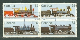 Canada 1984 -  1073/76 - Yv. 895/98 - Cancelled Block Of 4