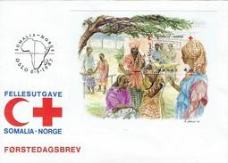 Norwegen / Norway - Block 7  FDC (O533)