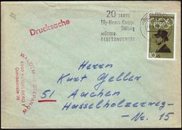 Germany Heidelberg 1970 / Elly Heuss Knapp Stiftung -  Foundation, 20 Years / Müttergenesungswerke / Machine Stamp