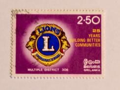 SRI LANKA  1983   LOT# 21  LIONS CLUB - Sri Lanka (Ceylan) (1948-...)