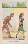 "Illustrateur :  Lamprety , Soldat ,revue  De  ""  Détails "" - Künstlerkarten"