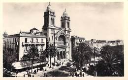 Tunisie -  TUNIS La Cathédrale (- Editions : REAL PHOTO N°13) *PRIX FIXE