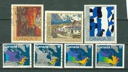Canada 1981 -  935/37, 938/41 - Yv. 766/768, 769/772 - Cancelled