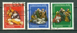 Canada 1982 -  996/998 - Yv. 824/826 - Cancelled Christmas
