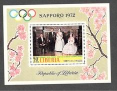 Liberia1971:Scott C190 OLYMPICS Mnh** JAPANESE ROYAL FAMILY