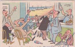 Illustrateur : CHEN , Boire Un Petit  Coup........ - Künstlerkarten