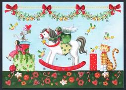 A4665 - Glückwunschkarte - Weihnachten - Kalender Adventskalender