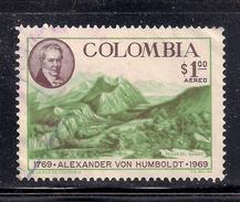 Columbia 1969 SC# C513 (2) - Colombia
