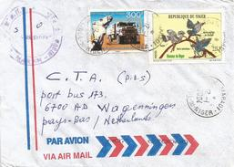 Niger 2004 Maradi Ralley Paris Dakar Camel Truck Bird Cover - Niger (1960-...)