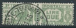 1927-32 REGNO USATO PACCHI POSTALI 2 LIRE - Z6-2