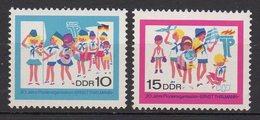 DDR / 20 Jahre Pionierorganisation Ernst Thälmann / MiNr. 1432, 1433 - DDR