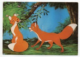 Disney--ROX Et ROUKY --cpsm N°128/4  Grafiche Biondetti--carte Italienne - Disney